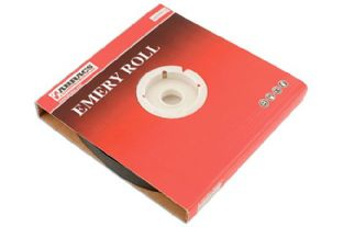Connect 32147 Abracs Emery Roll 25mm x 50m x P80 -  Box 1